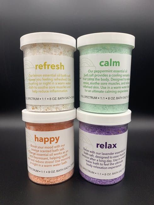 feature image  Bath Salts - Refresh - OTD