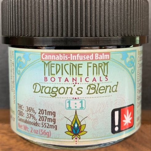 feature image 1:1 Dragon's Blend 2oz (Medicine Farms Botanicals)