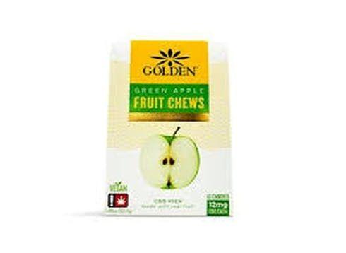 feature image 20% OFF Golden - CBD Green Apple Fruit Chews