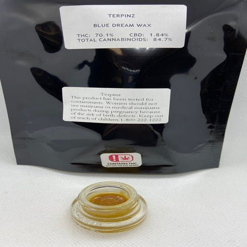 feature image **SALE 4 GRAMS of Blue Dream Wax $100!!!**