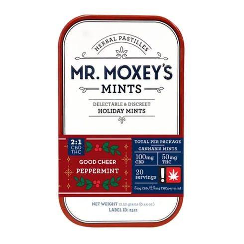 feature image  2:1  Peppermints (20 mints) - Moxey