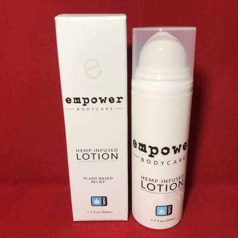 feature image   Empower: Lotion - Hemp CBD Only Lotion Cedarwood + Bergamot