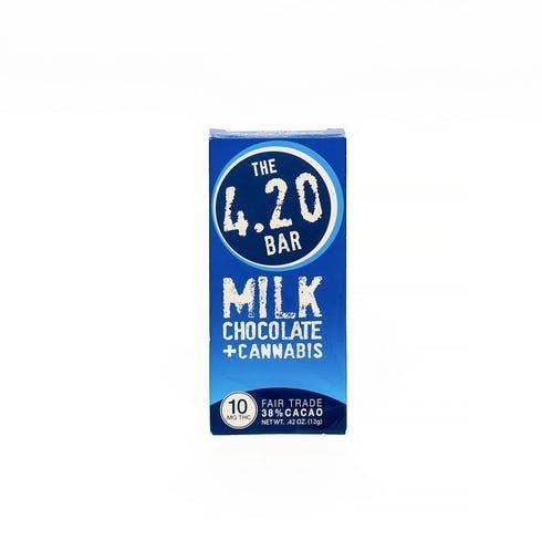 feature image 4.20 Bar - Milk Chocolate - 10mg