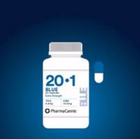 feature image Blue Capsules 20:1 Extra Strength (20/bottle)