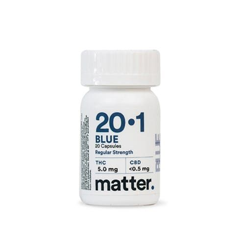 feature image Blue Capsules 20:1 Extra Strength (60/bottle)