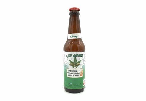 feature image 300mg Cannabis Strawberry Lemonade Just Us Eats