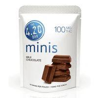 feature image 420 Bar: Chocolate: Milk Plain Minis 100mg