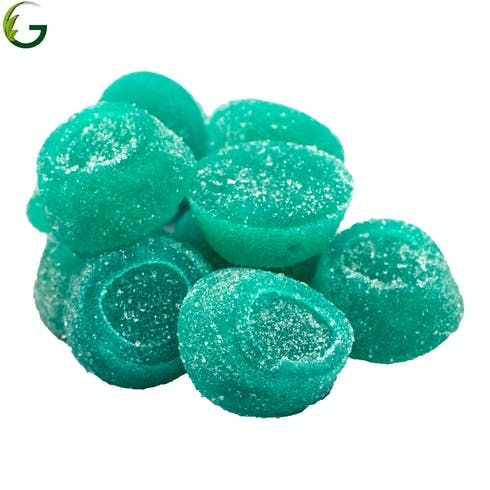 feature image Blue Raspberry Gummies 100mg