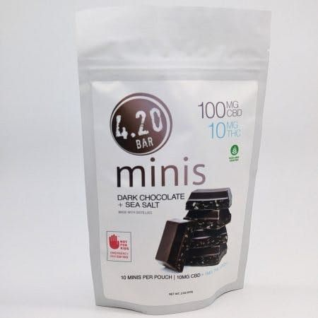 feature image 420 CBD 10:1 Dark Choc Sea 10pk