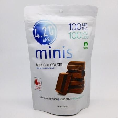 feature image 420 CBD 1:1 Dark Choc Sea 10pk