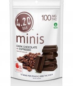 feature image 420 THC Dark Choc Espresso 10pk
