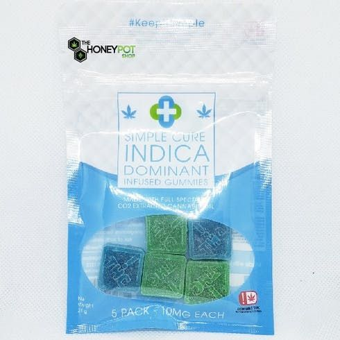 feature image 5pk indica gummies 10mg each (all taxes included)