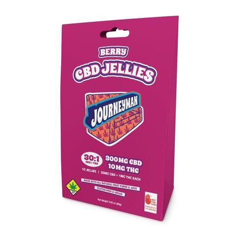 feature image 30:1 CBD Jellies Berry 10pk -ES