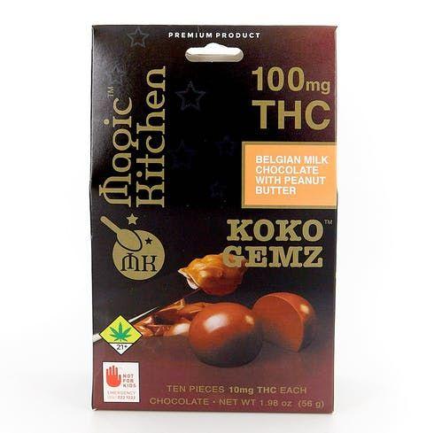 feature image  NWCS - Koko Gemz - Peanut Butter - 10 PK