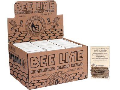 feature image Bee Line: Organic Hemp Wick