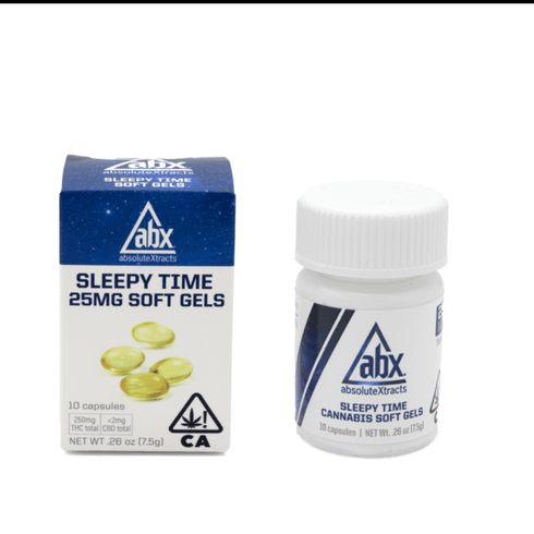 feature image AbsolutXtracts | 25mg Sleepy Time Caps | 10ct