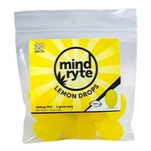 feature image   Mind Ryte- Lemon Drops 100 Mg