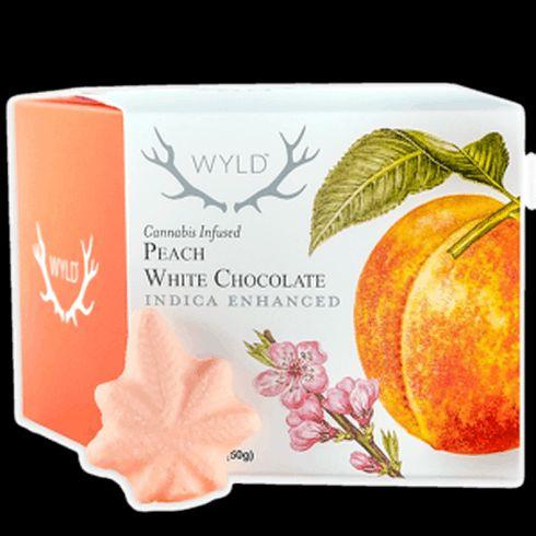 feature image 10 pc Box Peach White Chocolates