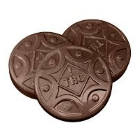 feature image !Honu 50mg Edible - Milk Chocolate Toffee - Green Leaf Special