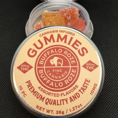 feature image 100mg Assorted Gummies