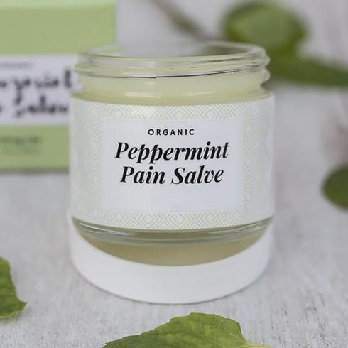 feature image 1:1 PEPPERMINT PAIN SALVE