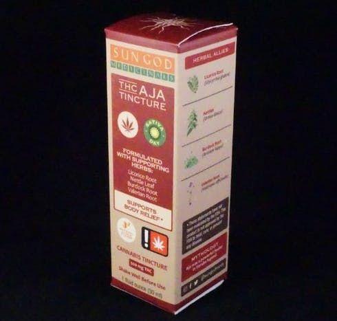 feature image Aja Sativa THC Tincture