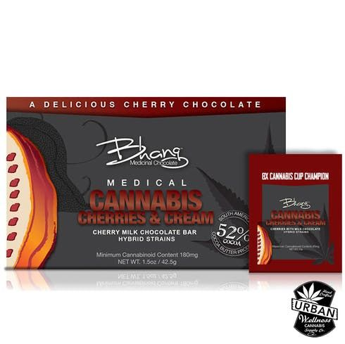 feature image Bhang - Cherries & Cream 200mg (Sativa)