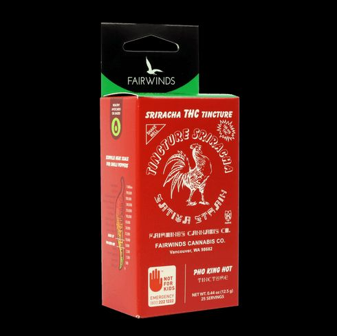 feature image *STAFF*FAIRWINDS/ Sriracha Tincture (100mg) Hybrid