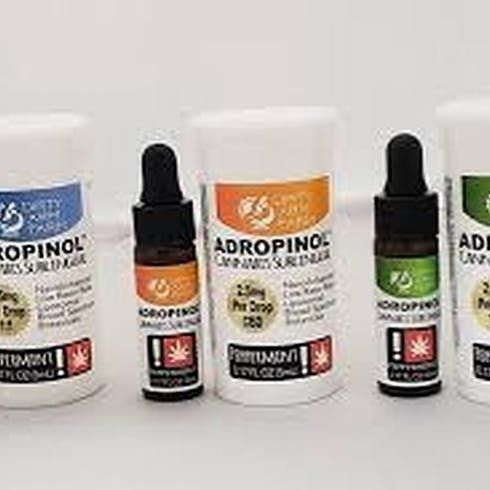 feature image ADROPINOL SUBLINGUAL PEPPERMINT THC