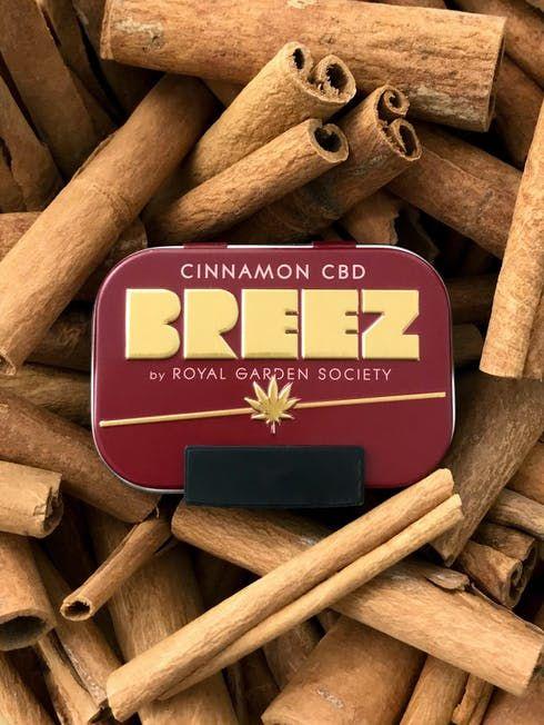 feature image Breez Cinnamon CBD Tin (1:1)