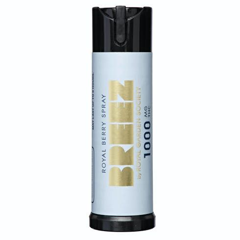 feature image Breez - Royal Mint Spray 1,000mg THC