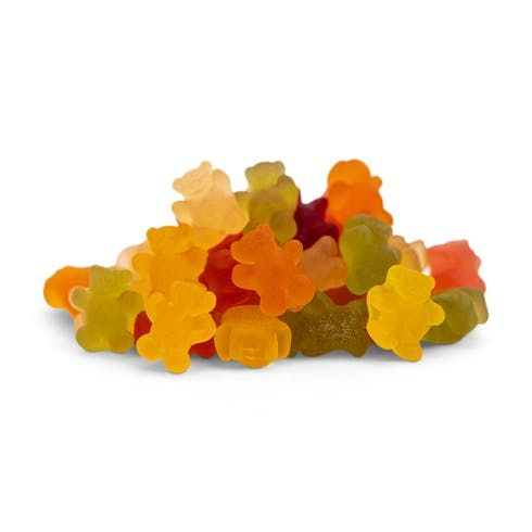 feature image 10 Multi Flavored Gummies (100mg CBD, 5mg THC)