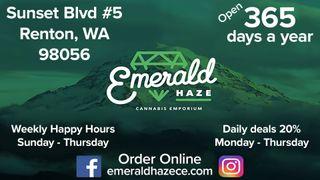 image feature Emerald Haze Cannabis Emporium - Renton