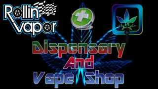 image feature Rollin Vapor Dispensary and Vape shop