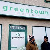 Green Town - Red Deer