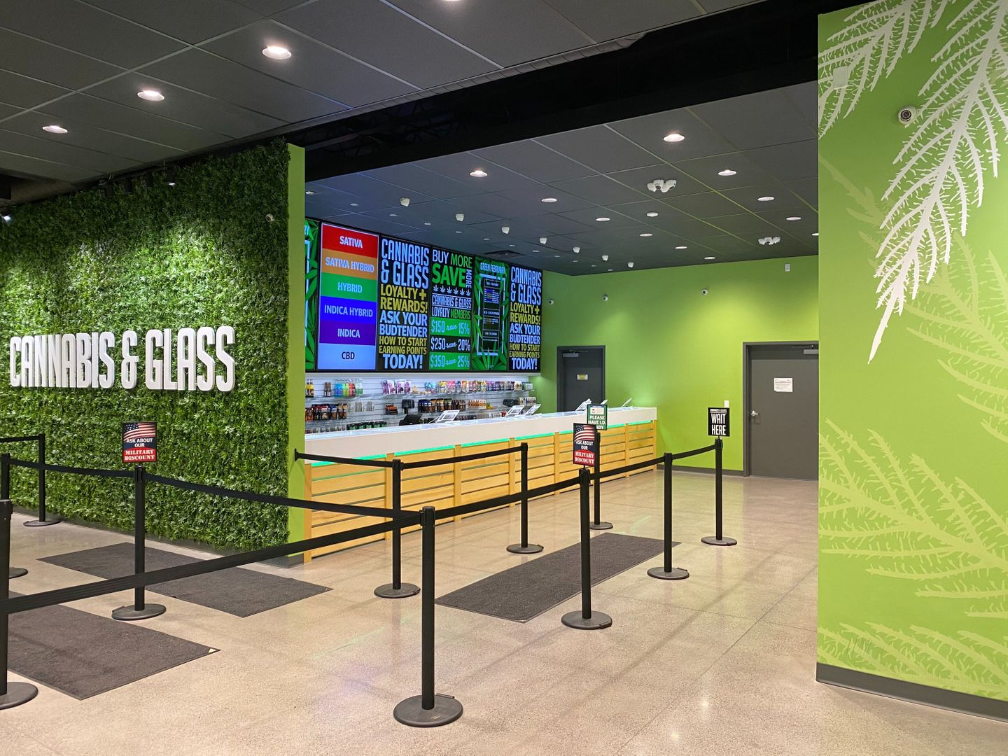 store photos Cannabis and Glass - Liberty Lake