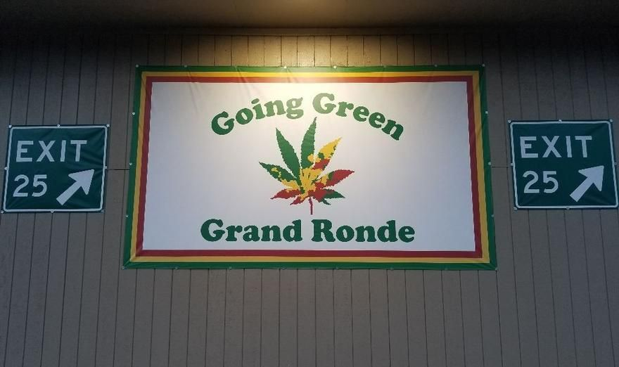 store photos Going Green Grand Ronde