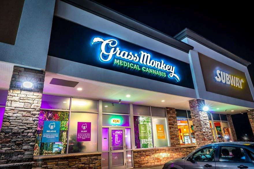 store photos Grass Monkey Cannabis Company