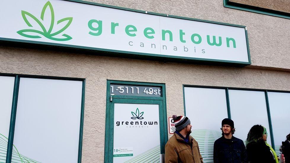 store photos Green Town - Red Deer