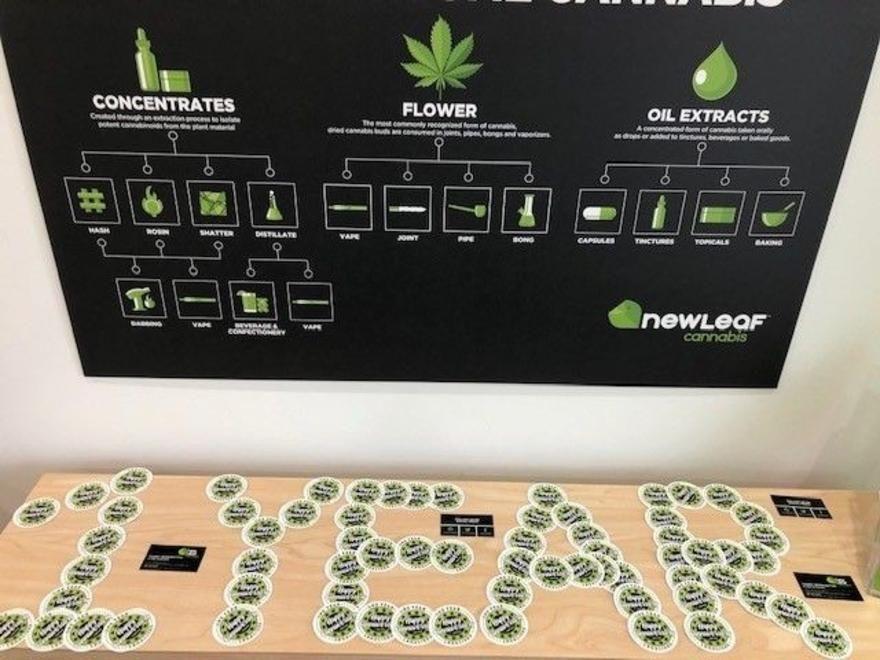 store photos NewLeaf Cannabis - Falconridge