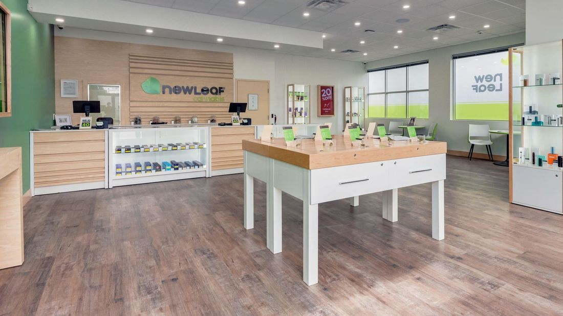 store photos NewLeaf Cannabis – St. Albert, Gateway Village