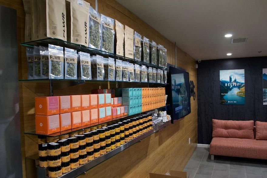 store photos Jaxx Cannabis