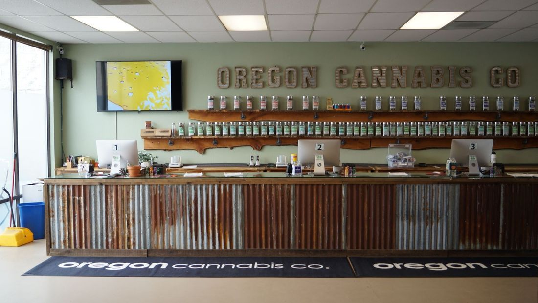 store photos Oregon Cannabis Co.