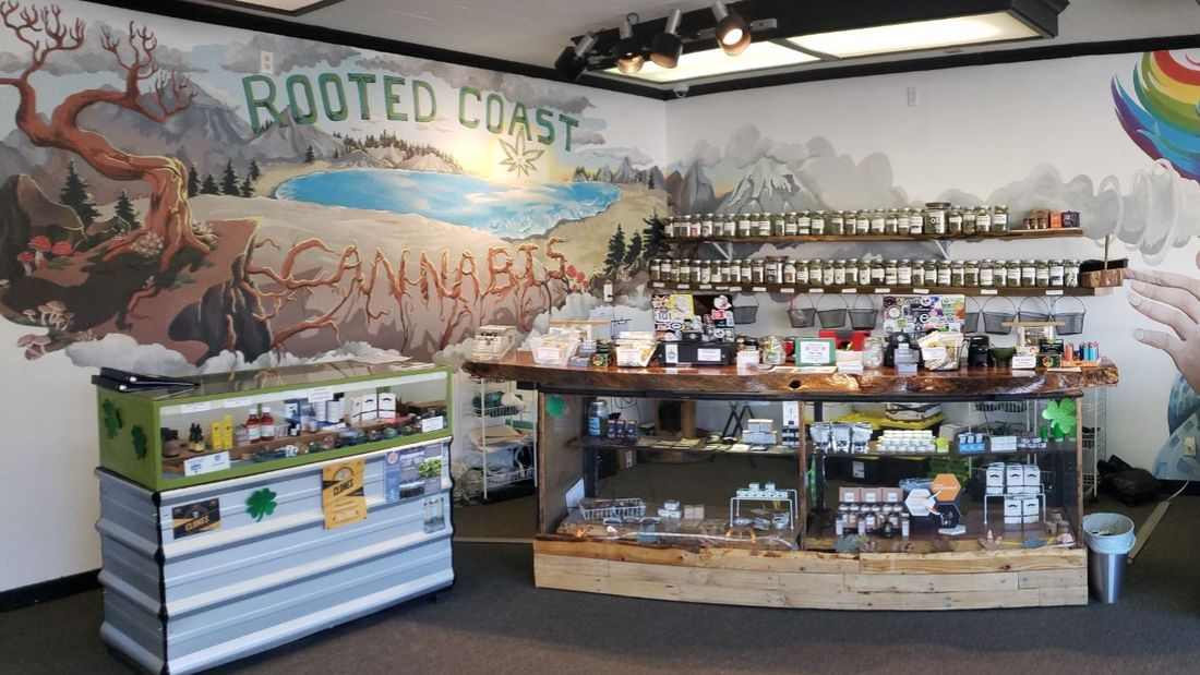 store photos Rooted Coast Cannabis