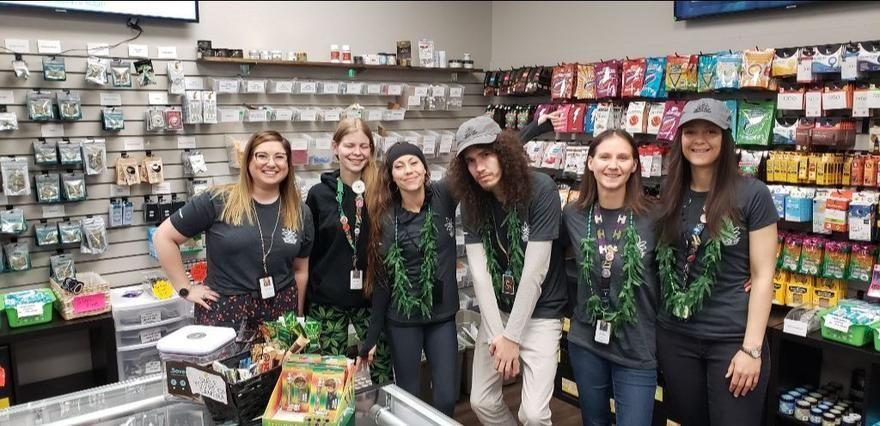 store photos Spokane Green Leaf