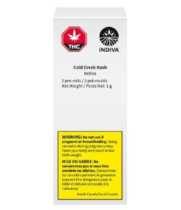 feature image Cold Creek Kush Pre-Roll