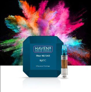feature image Haven St. Rise No. 540 Vape Cartridges